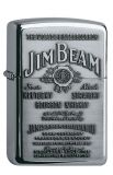 Jim Beam Label Chrome - Chrome high polished - Zippo-Art.-Nr.: 1.310.002 - Suggested Retail: Euro 59,95  00 41689 16928 2