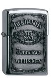 Jack Daniel's Label chrome emblem - Chrom high polished - Zippo-Art.-Nr.: 1.310.011  - Suggested Retail: Euro 59,95  00 41689 16427 0