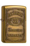 Jack Daniel's Label brass emblem - Brass high polished - Zippo-Art.-Nr.: 1.350.003 - Suggested Retail: Euro 69,50  00 41689 16428 7