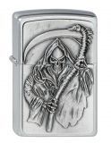 Reapers Curse - Chrome brushed - Zippo-Art.-Nr.: 2.000.856 - Suggested Retail: Euro 49,95  40 45233 00617 3