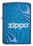 Zippo Logo Flame - Collection 2012 - Cerulean - Zippo-Art.-Nr.: 2.002.594 - Suggested Retail: Euro 55,00