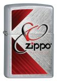 Zippo 80th Anniversary Edition - Chrome Heringbone Sweep - Zippo-Art.-Nr.: 2.002.576 - Suggested Retail: Euro 42,95