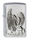 Dreaming Angel - Spring 2012 - Chrome brushed - Zippo-Artikel-Nummer: 2.002.718 - Suggested Retail: Euro 46,95